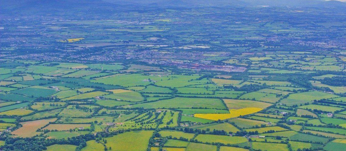 Ireland Aerial Patchwork