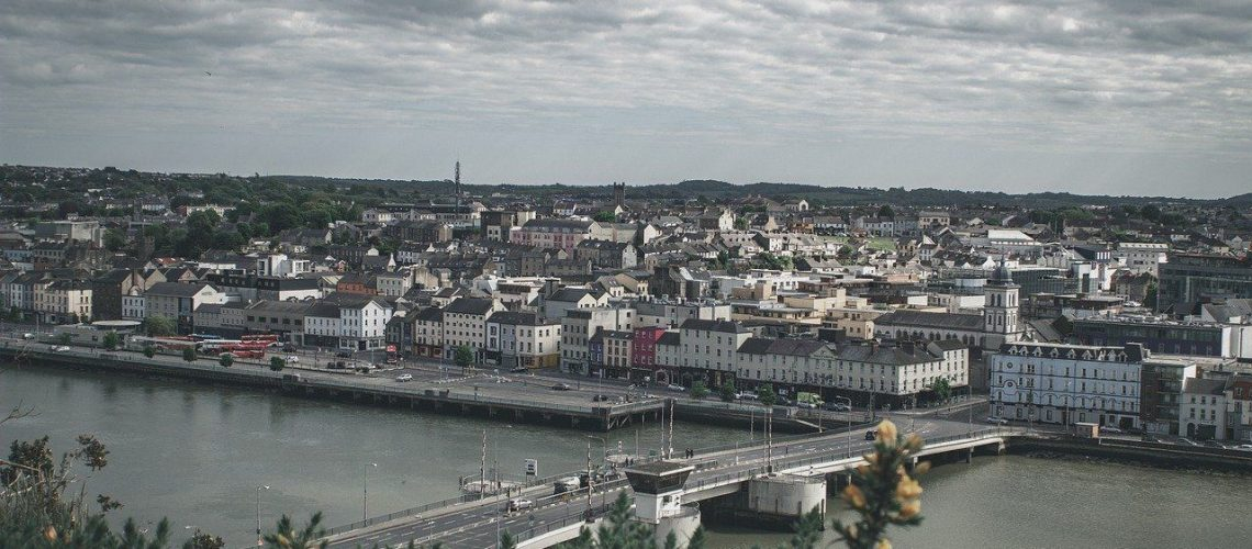 Waterford City from the Sky